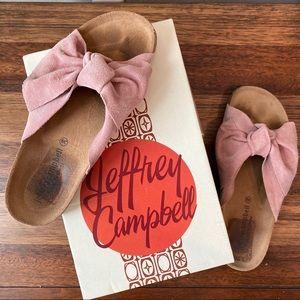 JEFFREY CAMPBELL PINK SLIDES